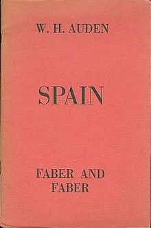 W H Auden Poems The Spanish Civil War Gradesaver